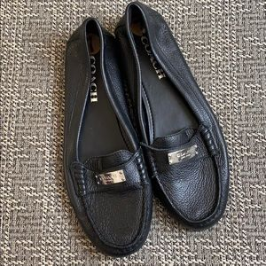 Coach Black Loafers 7